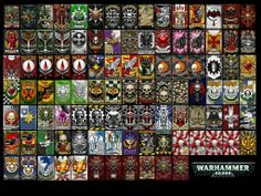 Warhammer 40k Banner Collection