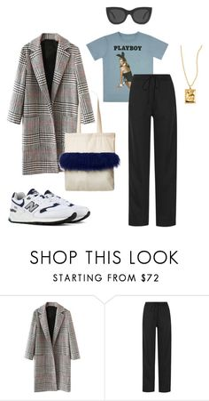"""""""Untitled #207"""" by frederikkeb ❤ liked on Polyvore featuring WithChic, Marc Jacobs, Chloé and New Balance"""