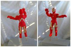 Iron Man fondan figurine