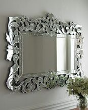 This is the mirror I want for the dining room!!!