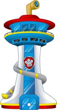 Щенячий патруль (com imagens) Paw Patrol Tower, Paw Patrol Badge, Los Paw Patrol, Paw Patrol Lookout, Paw Patrol Party Decorations, Paw Patrol Birthday Theme, Paw Patrol Cake Toppers, Paw Patrol Coloring, Diy And Crafts