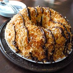 Samoa Bundt Cake - You best believe this will be on my birthday wish list from Ryan. It looks like a dream!!
