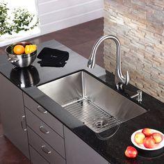 Furniture. Stunning Design Ideas Of Modern Kitchen Sink. Agreeable ...