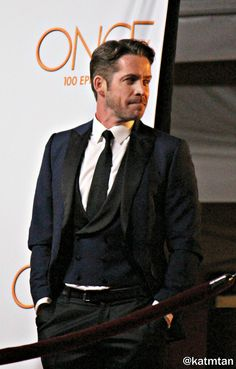 Sean Maguire on Once Upon a Time 100th episode red carpet - 20 February 2016