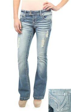 d1392d51ba6 Love these jeans!! Ariya curvy light wash flare jean  35