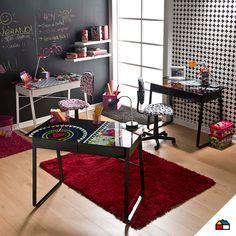 #Sodimac #Homecenter #estudio #escritorio #cuarto #dormitorio #espacio #hogar #inspiración #decoracion #homedecor