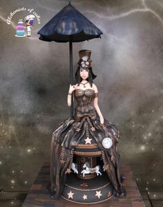 Steampunk Cake with motion by Moustoula Eleni (Alchemists of cakes)