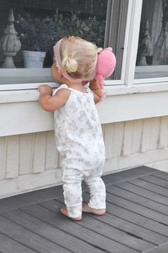 Pastel Unicorn Organic Cotton Romper