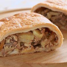 Cornish pasties (chaussons irlandais à la viande et légumes)