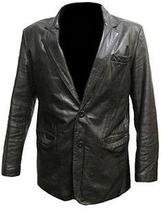 Stormwise Mens Fashion Stylish Real Leather Moto Jacket