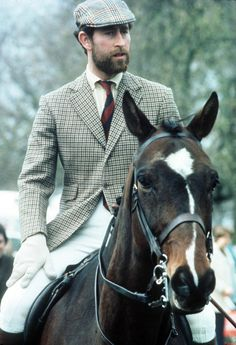 Prince Charles, with a beard.