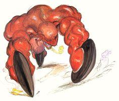 Final Fantasy VI - Mag Roader Concept Art - Yoshitaka Amano