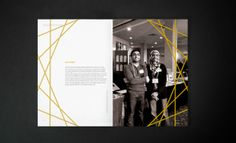 WM Annual Report 2012 by Mustaali Raj, via Behance