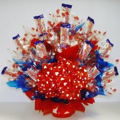 The Domestic Curator: VALENTINE'S DAY CANDY BOUQUET
