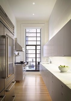 1167b414603 So many readers asked about the metal French door in our Steal This Look   Brooklyn Heights Kitchen post a while back that we thought it our civic  duty to ...