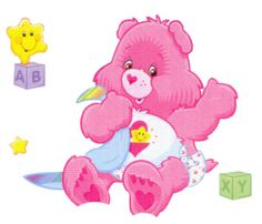 care bear clipart | Free Care Bear Cheer Bear Cartoon Clipart - I-Love-Cartoons.com