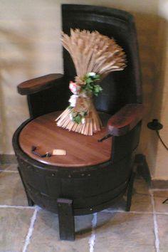 Muebles hechos con barricas de vino | Una buena curiosidad!!