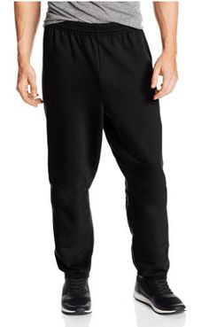Hanes Men's Ecosmart Fleece Sweatpant (Pack of Charcoal Heather, The Hanes comfort blend EcoSmart sweatpants provides medium-weight fleece comfort all year around. Even better, Hanes keeps plastic bottles out of landfills by using recycled polyester. Athletic Outfits, Sport Outfits, Mens Fleece, Elastic Waist, Sweatpants, Mens Fashion, How To Wear, Shirts, Clothes