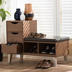 Found it at Wayfair - Sperling Upholstered Storage Entryway Bench