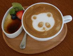 Panda Latte! This is adorable!