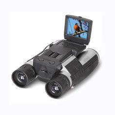 2'' FHD Digital Camera Binoculars,SGODDE 12x32 5MP Video Recorder Camcorder - LCD HD 1080p Display Telescope for Watching,Hunting and Spying