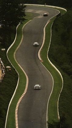 Towards Karussel at the Nürburgring