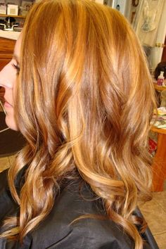 Caramel Highlights & Caramel Low Lights. Gorgeous hair colors for Fall. Color,Cut & Style by Stylist Audra Tucker