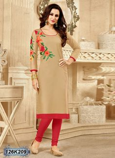 Buy Classic Beige Colored Cotton Kurti Get 30% Off on Eid Collection From Leemboodi Fashion with Free Shipping in INDIA Now get 5% off on the purchase of 2 & buy 4 get 10% off till Eid. Limited Period Offer from Leemboodi Fashion Now Available on Cash On Delivery
