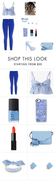 """""""monochromatic colors"""" by mandymaesimpson ❤ liked on Polyvore featuring Maryam Nassir Zadeh, NARS Cosmetics, Casetify, Kate Spade, Monica Sordo, Vera Bradley and Louis Vuitton"""
