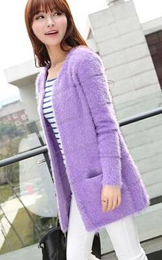 2015 New Winter Korean Version Long Section Of Loose Big Yards Women Mohair Cardigan Sweater Coat Xxf11 13 From Fashionup, $18.76   Dhgate.Com