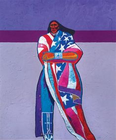America, America by John Nieto (1936-2018) - Lewallen Galleries