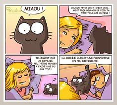 Vous vivez avec un chat ? Alors cette bande dessinée va forcément vous parler !