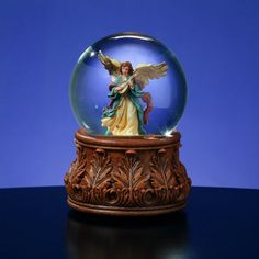 6 Musical Angels We Have Heard On High Christmas Water Globe Glitterdome *** This is an Amazon Affiliate link. Check out this great product.