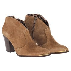 Cubala Suede Bootie Tan, $59, now featured on Fab.