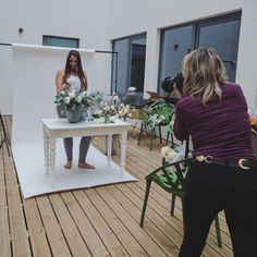 Shooting our new fakies 📷 Hire out for yours! Cost-effective & fabulous #flowerstyling #styling #photoshoot #interiorstyling #shooting #model #fakeflowers #fauxflowers #silkflowers #londonflowers #photography #lifestyle #fakeittillyoumakeit #events #eventflowers #flowerhire #hire
