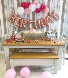 Unicorn Themed Birthday Party on a Budget – Lucky Plot 13 Unicorn Themed Birthday Party, Birthday Balloons, Unicorn Party, Birthday Party Themes, Balloon Banner, Throw A Party, 9 Year Olds, Get Over It, To My Daughter