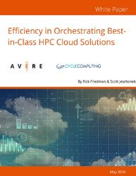 Efficiency in Orchestrating Best-in-Class HPC Cloud Solutions  Employing hybrid cloud architecture can help IT departments more easily address both technical and business challenges.  The availability of so much functionality and economy in High-Performance computing begs the question—why aren't more organizations moving their HPC clusters to the cloud?