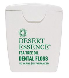 Use code FLOSS now thru 7/31 to get a FREE Tea Tree Oil Dental Floss with any 50 dollar purchase!
