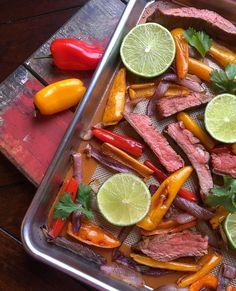 Biffstrimlar i langpanne- rask og god middag! Ny oppskrift på bloggen👩🏻🍳:  #flank steak #middag #wraps #havsalt med søltang