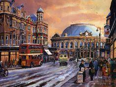 Duncan Street - Leeds - West Yorkshire - UK - 1950