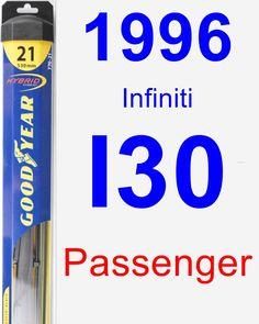 Passenger Wiper Blade for 1996 Infiniti I30 - Hybrid