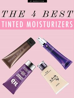 the BEST tinted moisturizers