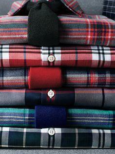 The Plaid Shop @Brent Hannah Republic (bottom shirt)