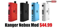 Kanger Nebox - NewAll In One Tank MOD - Enter code: NEBOX for 25% off