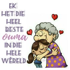 'n ouma se liefde is onbeskryflik groot Bible Verses Quotes, Wisdom Quotes, Qoutes, 80th Birthday, Birthday Wishes, Birthday Video, Aesthetic Names, Afrikaanse Quotes, Grandma Quotes