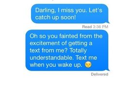 This person who knows exactly what's happening. | 17 Perfect Responses For When Someone Doesn't Text Back