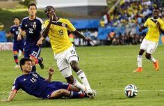 Minuto 14, penalti sobre Adrian Ramos