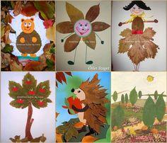 Legjobb faleveles ötletek.. fantasztikus ötleteteket mutatunk a színes falevelek felhasználására. - MindenegybenBlog Art For Kids, Crafts For Kids, Arts And Crafts, Pine Cones, Fall Crafts, Making Out, Kindergarten, Autumn, Christmas Ornaments