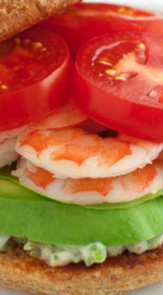 shrimp sandwiches with tarragon caper mayonnaise shrimp sandwiches ...