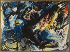 Edouard PIGNON    Bully-les-Mines (Pas-de-Calais, France), 1905 - La Couture-Boussey (Eure, France), 1993    Le battage du blé    Titre attribué : Pousseurs de blé    1961 - 1962    Huile sur toile    145 x 195 cm